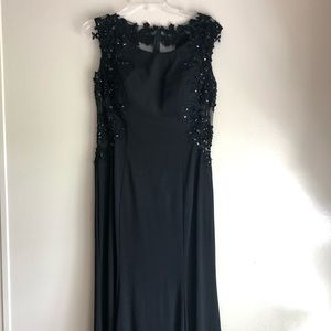 Prom Dress | Beautiful Black Formal Dress Long 12